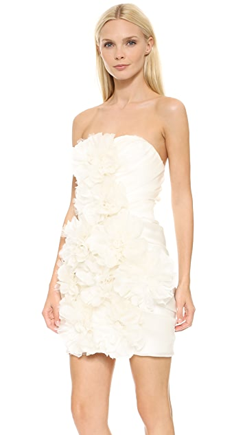Marchesa Peony Dress