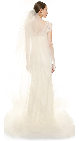 Marchesa Tulle Cathedral Length Veil