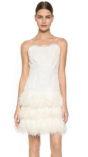 Marchesa Camellia Dress