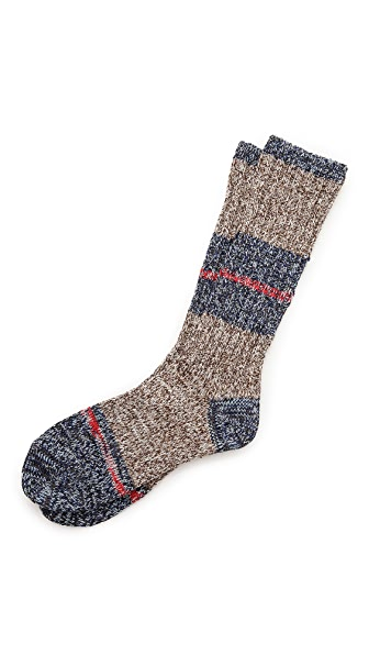 Mr. Gray Twister Melange Socks