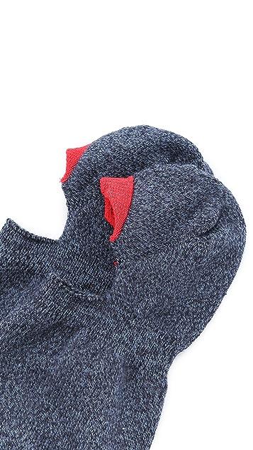 Mr. Gray Loafer Melange Socks