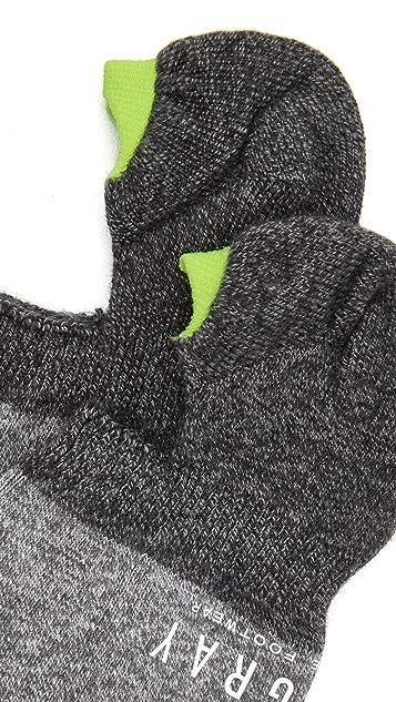Mr. Gray 2 Tone Loafer Melange Socks