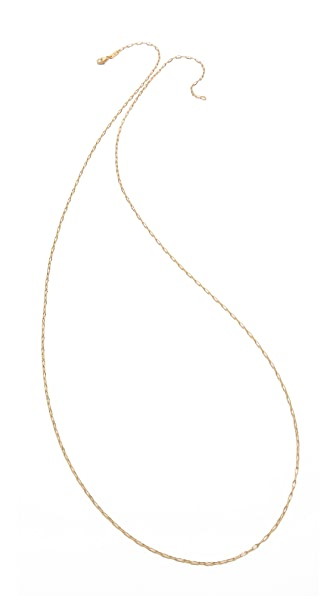 Monica Rich Kosann Delicate Belcher Chain Necklace