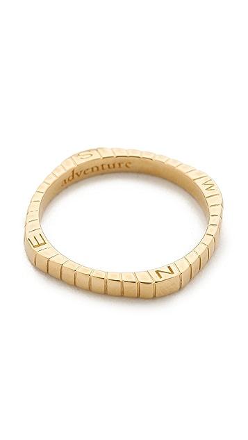 Monica Rich Kosann Compass Adventure Ring Charm