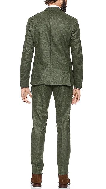 Mr. Start Flannel Cheshire Suit