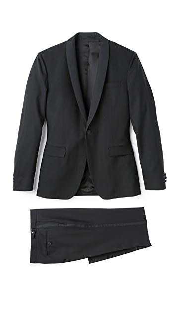 Mr. Start Rivington Shawl Collar Dinner Jacket with Trousers