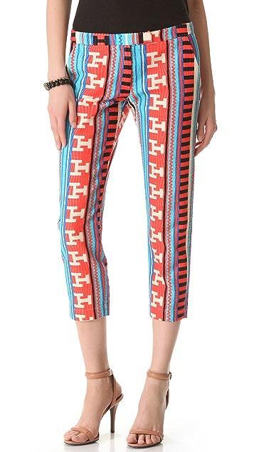 MSGM 3D Ikat Pants