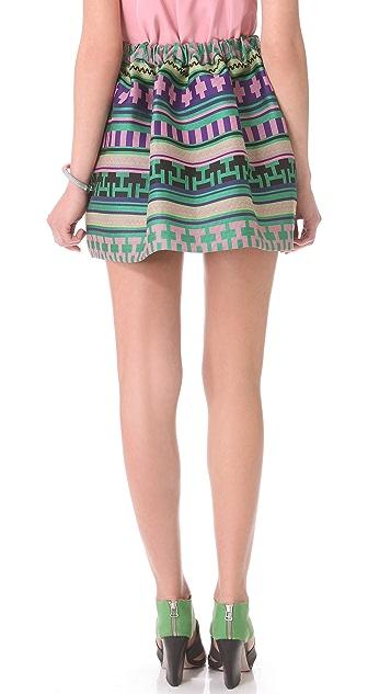 MSGM Ikat Skirt
