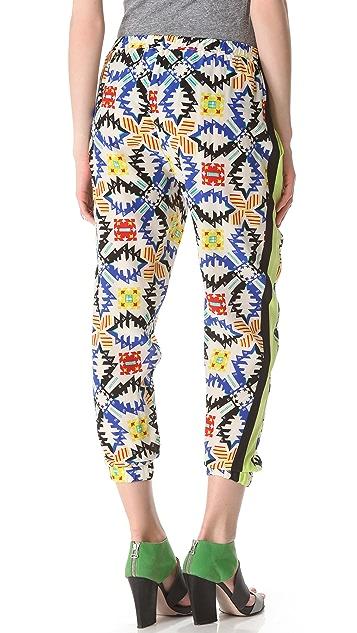 MSGM Tribal Jogging Pants