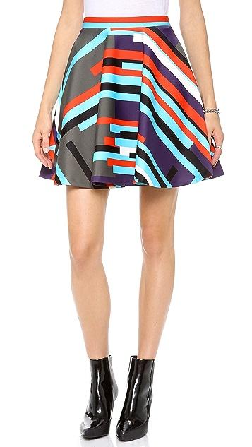 MSGM Neoprene Skirt