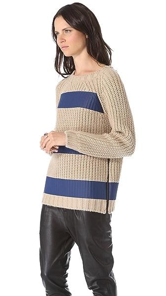 MSGM Striped Sweater