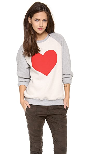 MSGM Heart Sweatshirt