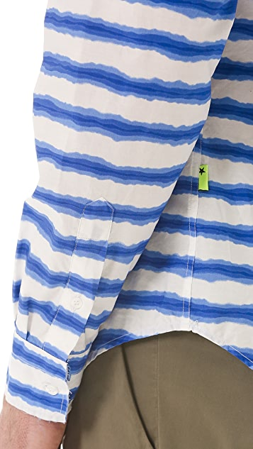 MSGM Striped Sport Shirt