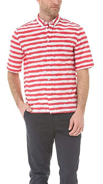MSGM Short Sleeve Sport Shirt