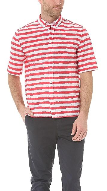 MSGM Short Sleeve Sport Shirt