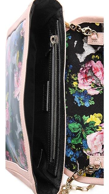 MSGM Printed Shoulder Bag
