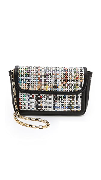 MSGM Recycled Paper Shoulder Bag