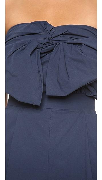 MSGM Bow Front Jumpsuit