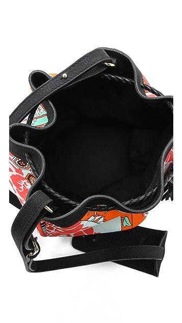MSGM Printed Bucket Bag