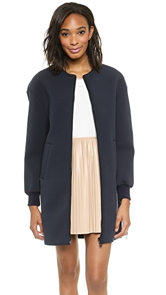 MSGM Neoprene Coat