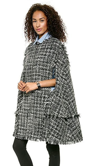 MSGM Tweed Cape