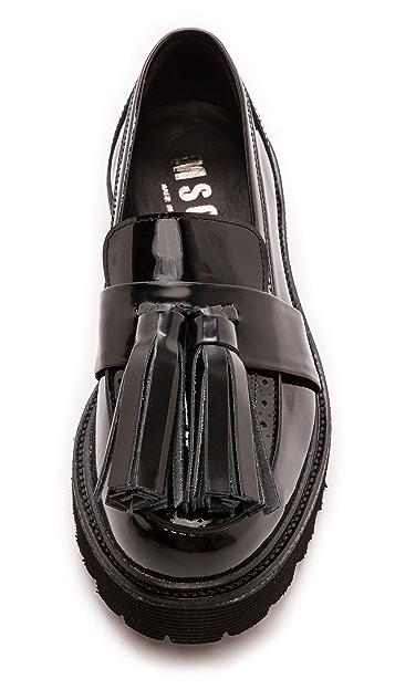 MSGM Tassle Loafers