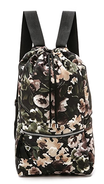 MSGM Floral Camouflage Backpack