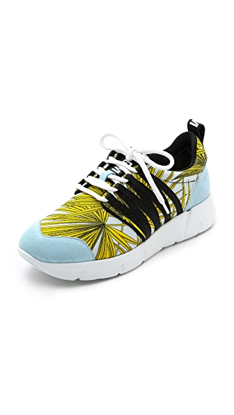 MSGM Eye Webbing Jogging Sneakers