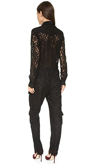 MSGM Lace Jumpsuit
