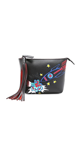 Msgm Rocket Pouch - Black