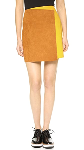 MSGM Colorblock Skirt