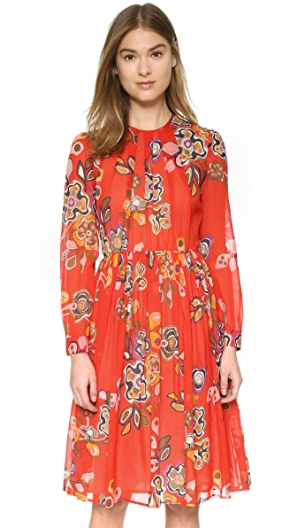 MSGM Long Sleeve Dress