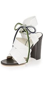 Espa High Heel Sandals                MSGM