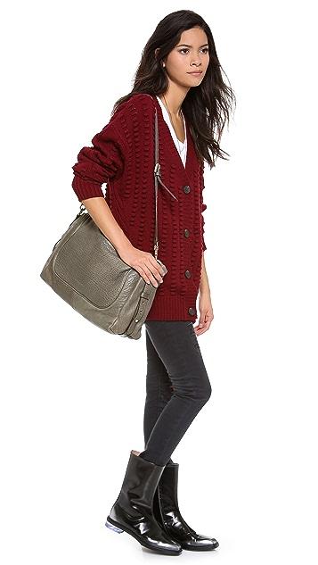 MS by Martine Sitbon Lambskin Shoulder Bag