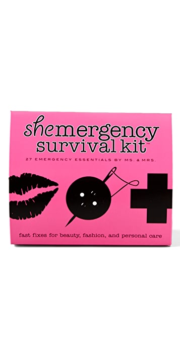 Pinch Provisions Shemergency Kit