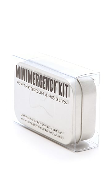 Pinch Provisions Minimergency Kit For The Groom & His Guys