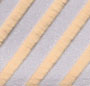 Silver/Gold Stripe