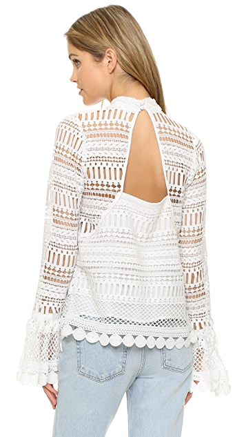 Ministry of Style Wild Fox Blouse