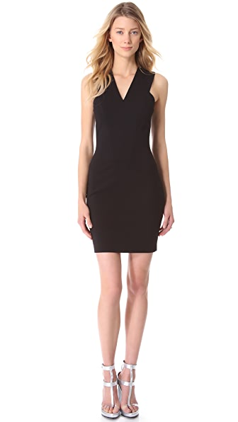 Mugler Sleeveless Jersey Dress