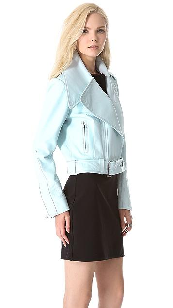Mugler Leather Jacket