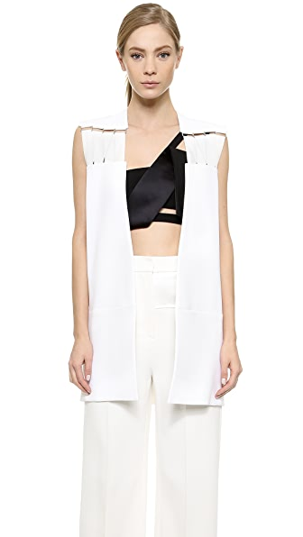 Mugler Sleeveless Vest