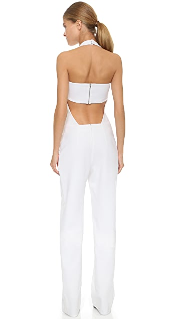 Mugler Sleeveless Jumpsuit