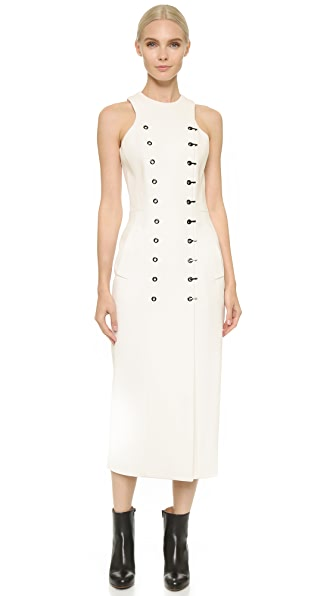Mugler Sleeveless Dress - Off White