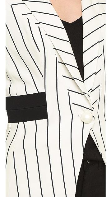 Mugler Striped Blazer