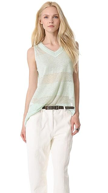 MAISON ULLENS Summer Linen Top