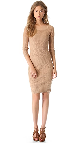 MAISON ULLENS Long Sleeve Sweater Dress