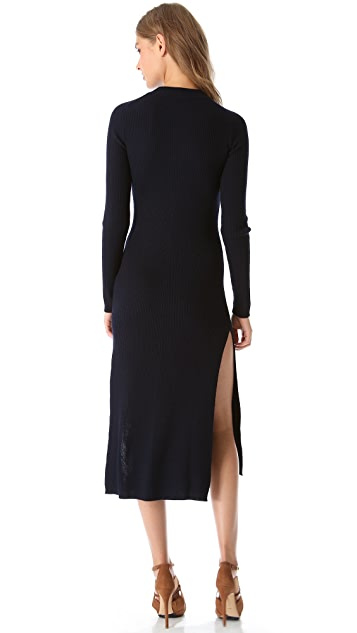 MAISON ULLENS Long Sleeve Dress