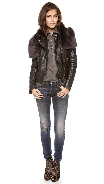 Muubaa Delphi Detachable Shawl Jacket
