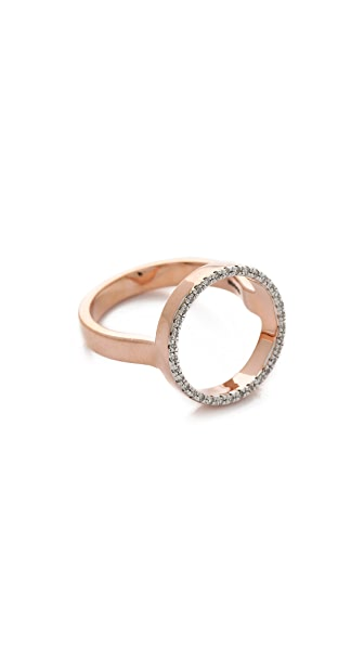 Monica Vinader Naida Circle Open Ring