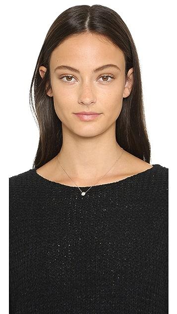 Monica Vinader Ava Button Necklace
